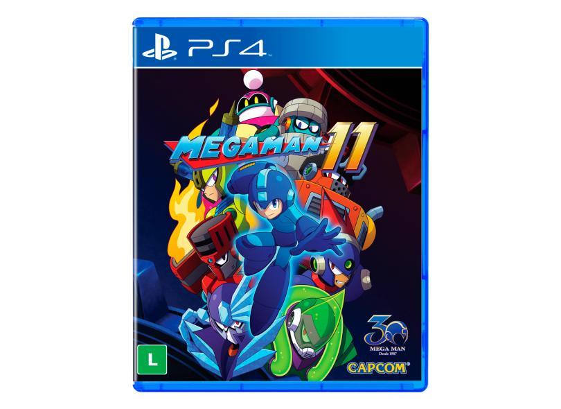 Jogo Mega Man 11 PS4 Capcom
