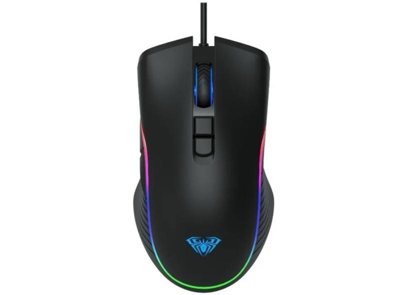 Mouse Gamer Óptico USB Wind F806 - Aula
