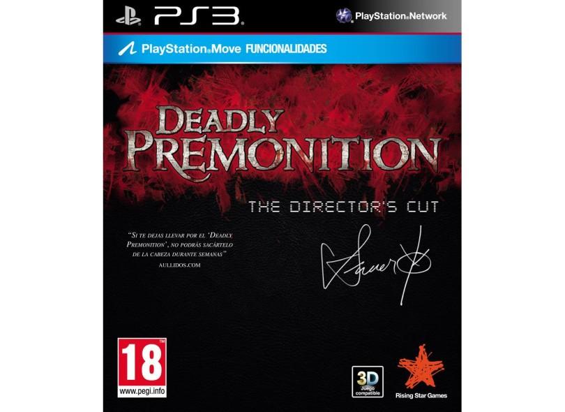 Jogo Deadly Premonition PlayStation 3 Rising Star Games
