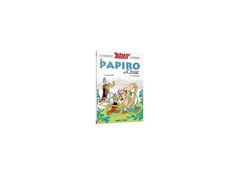 O Papiro De César - Asterix - Nº 36 - Didier Conrad & Jean-yves Ferri; Goscinny, René; Uderzo, Albert - 9788501106148