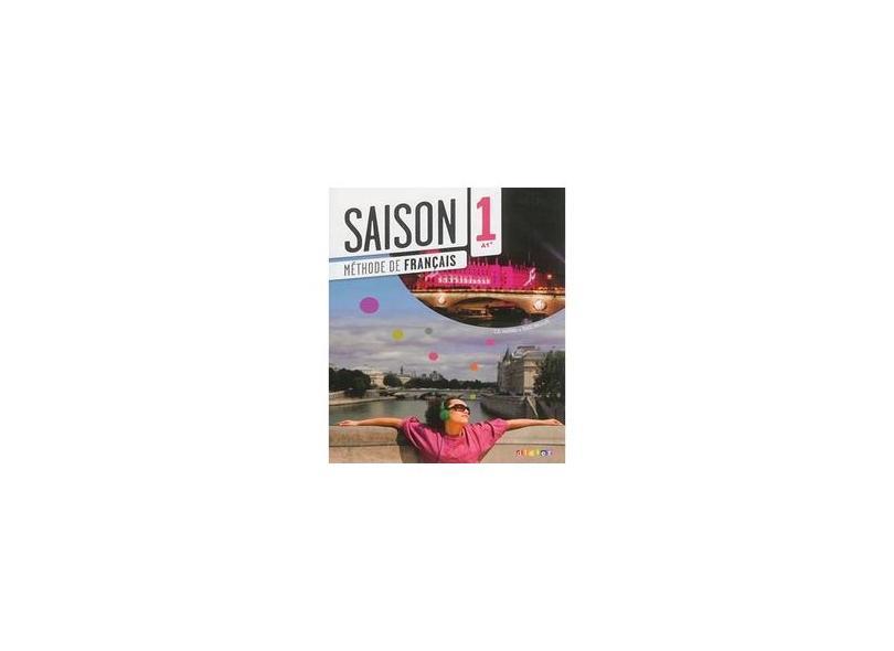 Saison 1 Livre D´Élève A1 (+CD Audio + DVD) - Marie Noelle Cocton - 9782278082650