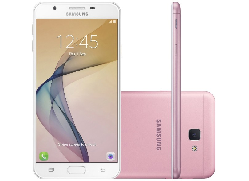 Smartphone Samsung Galaxy J5 Prime SM-G570M 32GB 13,0 MP 2 Chips Android 6.0 (Marshmallow) 3G 4G Wi-Fi