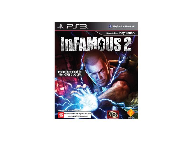 Jogo Infamous 2 Sony PS3