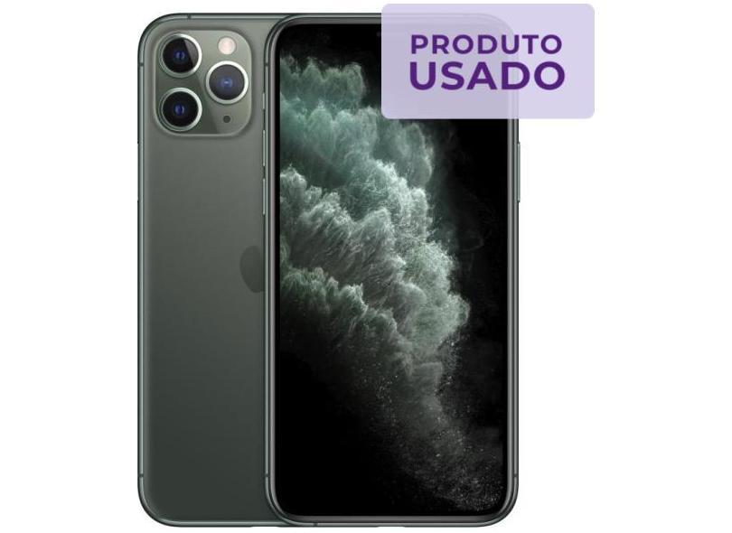 Smartphone Apple iPhone 11 Pro Max Usado 256GB Câmera Tripla iOS 13