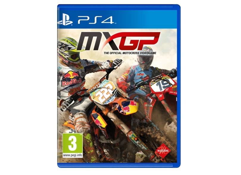 Jogo MXGP PS4 Milestone