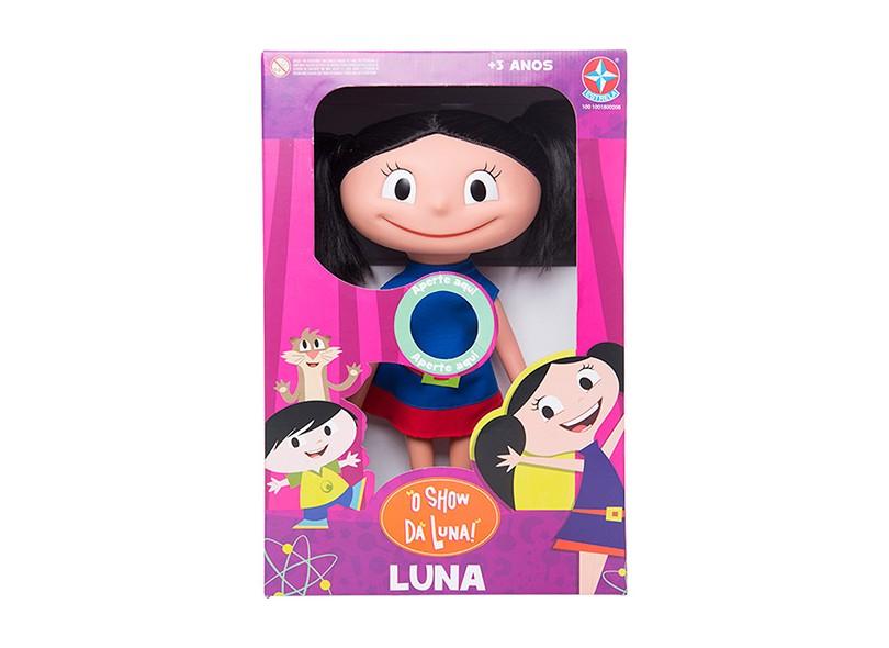 Boneca O Show da Luna Luna com Som Estrela