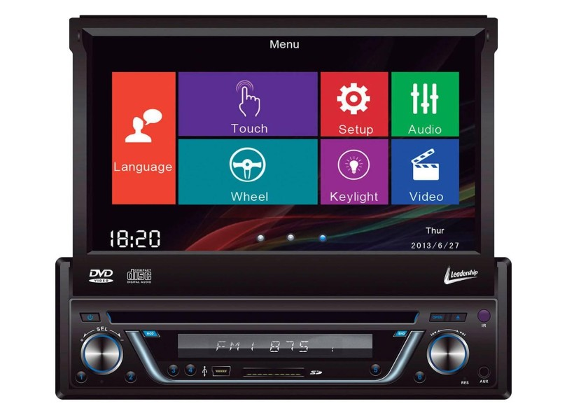 DVD Player Automotivo Leadership 5975
