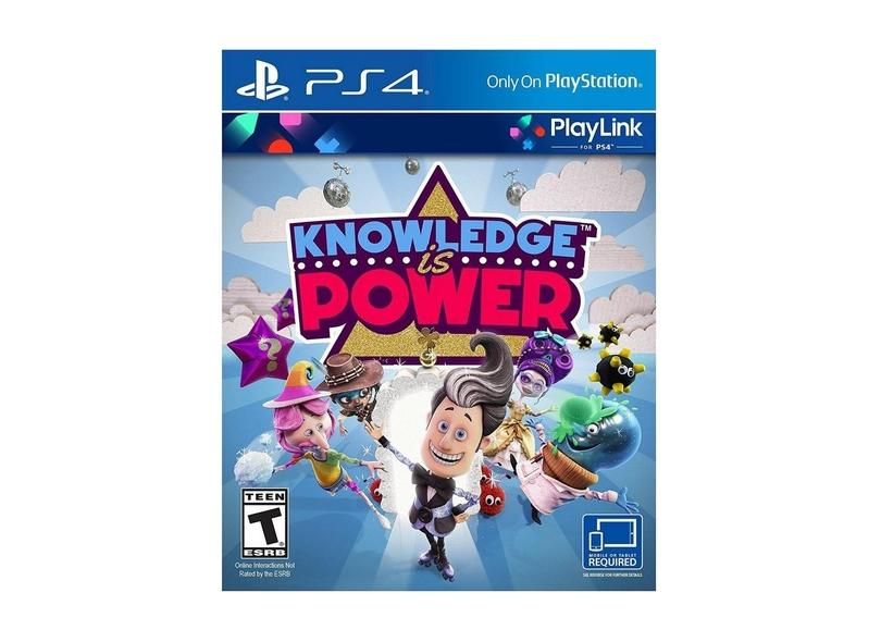 Jogo Knowledge is Power PS4 PLay It