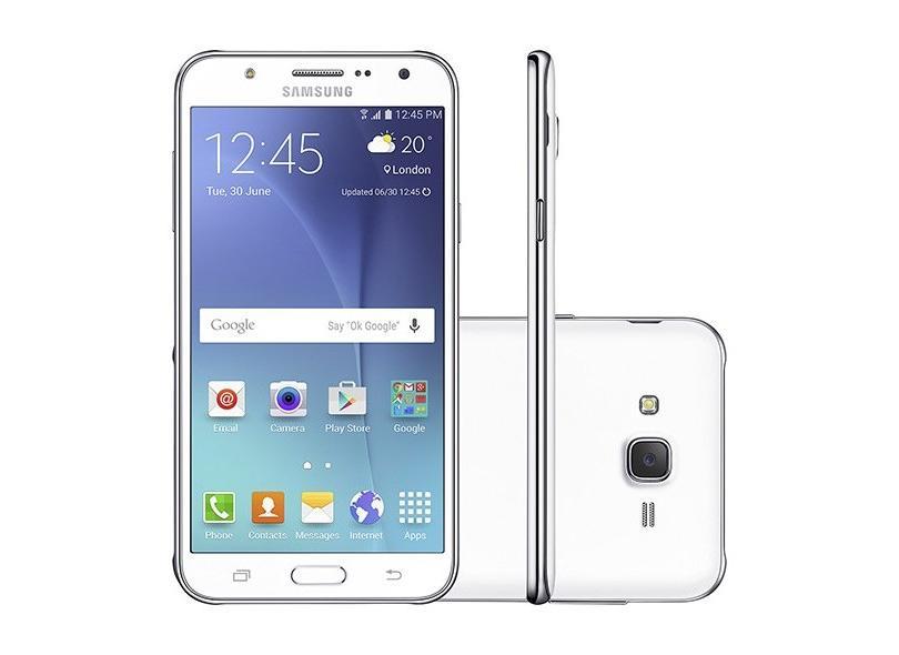 Smartphone Samsung Galaxy J7 Usado 16GB 13.0 MP 2 Chips Android 5.1 (Lollipop) 4G Wi-Fi