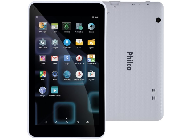 """Tablet Philco 8.0 GB LCD 7 """" Android 5.1 (Lollipop) PH70"""