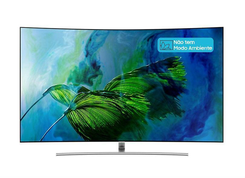 "Smart TV TV QLED 75"" Samsung Q8C 4K HDR Netflix QN75Q8CAMG 4 HDMI"
