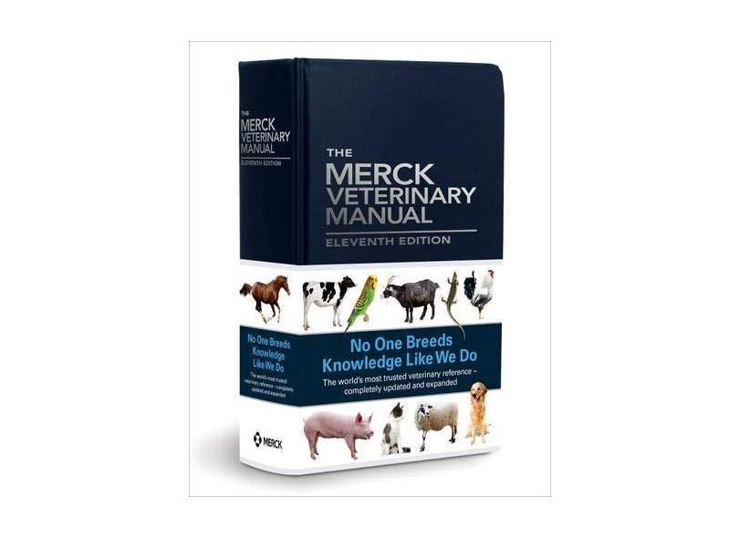 The Merck Veterinary Manual, 11e - Merck Editor - 9780911910612