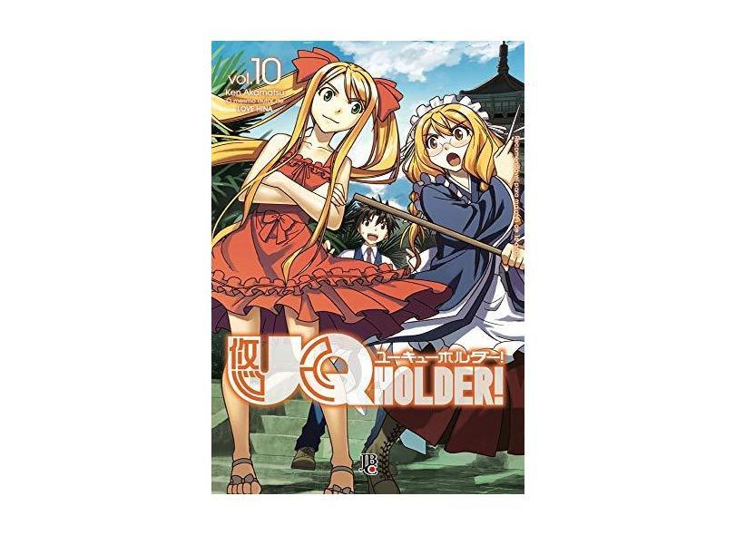 UQ Holder 10 - Ken Akamatsu - 9788545703389