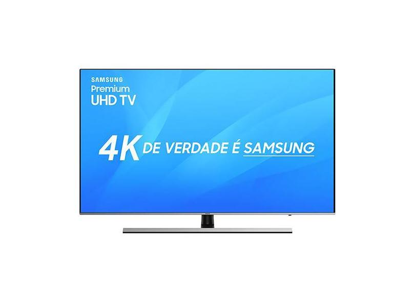 """Smart TV TV LED 75 """" Samsung 4K Netflix 75NU8000 4 HDMI"""