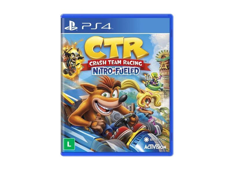 Jogo Crash Team Racing Nitro Fueled PS4 Activision
