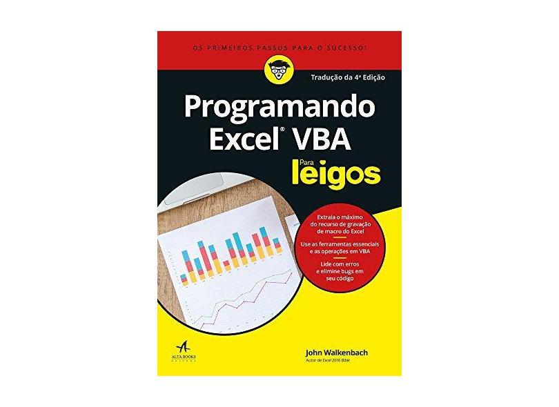 Programando Excel Vba Para Leigos - John Walkenbach - 9788550801681