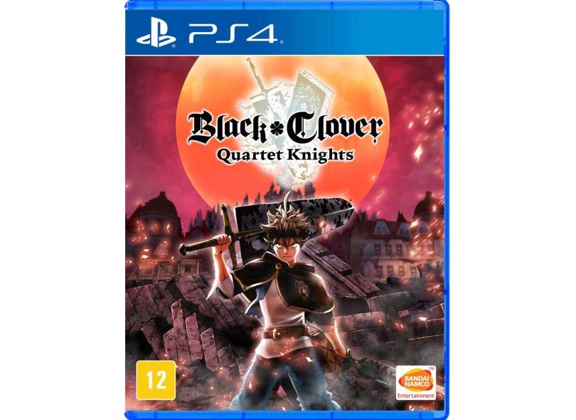 Jogo Black Clover Quartet Knights PS4 Bandai Namco