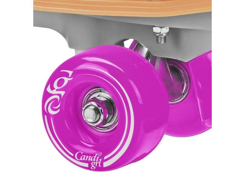 Patins Tradicional 4 rodas Roller Derby Candi Grl Sabina