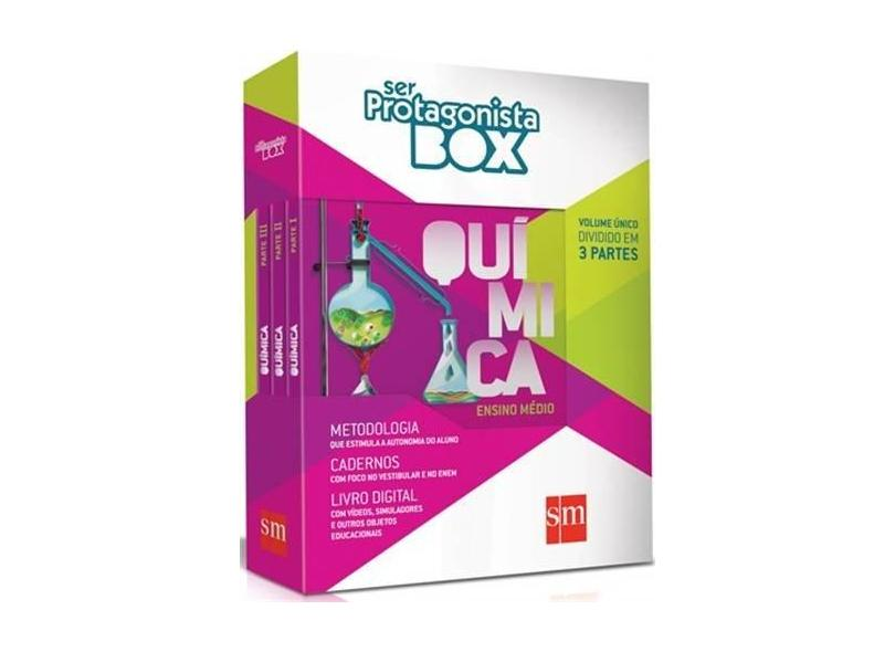 Box Ser Protagonista: Química - Ensino Médio - Volume Único - Diversos - 9788541802352