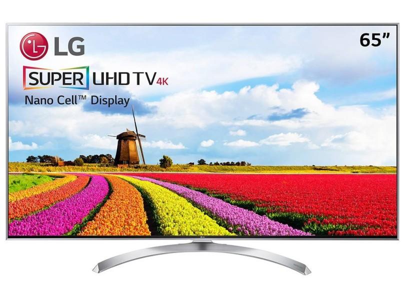 """Smart TV TV LED 65"""" LG 4K HDR 65SJ8000 4 HDMI"""