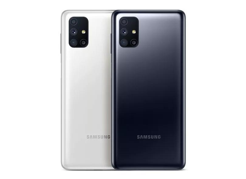 Smartphone Samsung Galaxy M51 128GB Câmera Quádrupla Android 10
