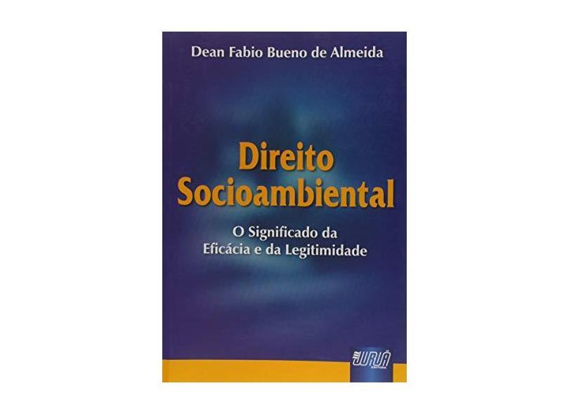 Direito Socioambiental - Almeida,dean Fabio Bueno De - 9788503625289