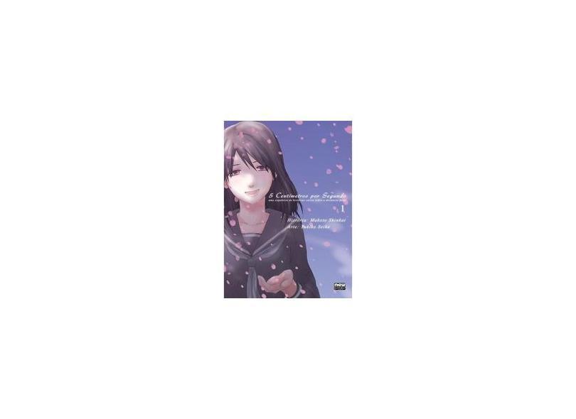 5 Centímetros por Segundo - Volume 1 - Makoto Shinkai - 9788583620778
