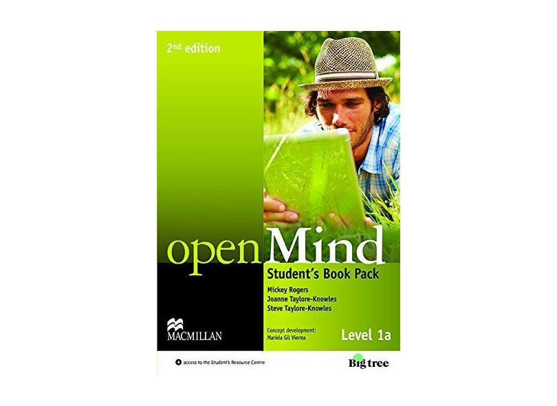 Open Mind - Level 1 A - Student´S Book Pack - 2Nd Edition - Editora Macmillan - 9780230459090