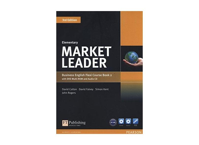 Market Leader - Elementary Flexi Course Book 2 Pack - 3Rd Edition - Cotton, David - 9781292126098