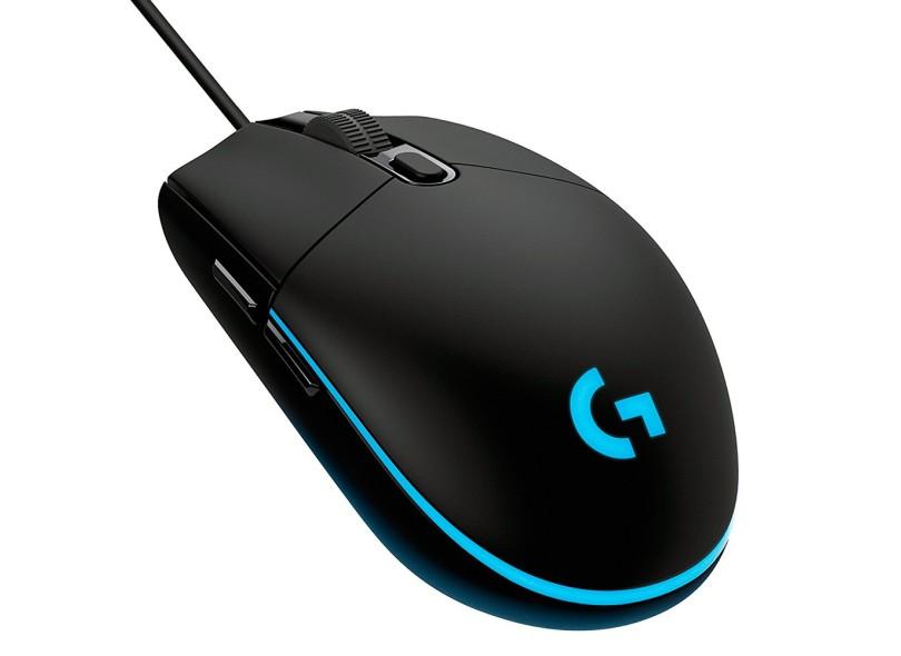 Mouse Óptico Gamer USB G203 - Logitech