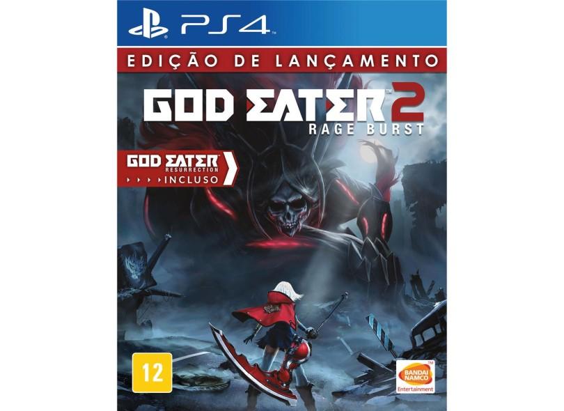 Jogo God Eater 2 Rage Burst PS4 Bandai Namco