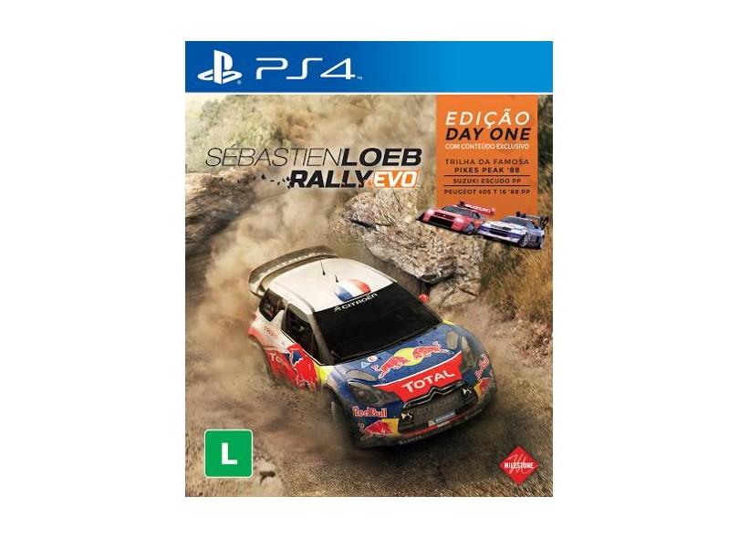 Jogo Sébastien Loeb Rally Evo PS4 Milestone