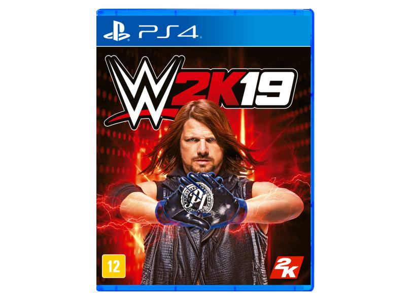 Jogo WWE 2K19 PS4 2K
