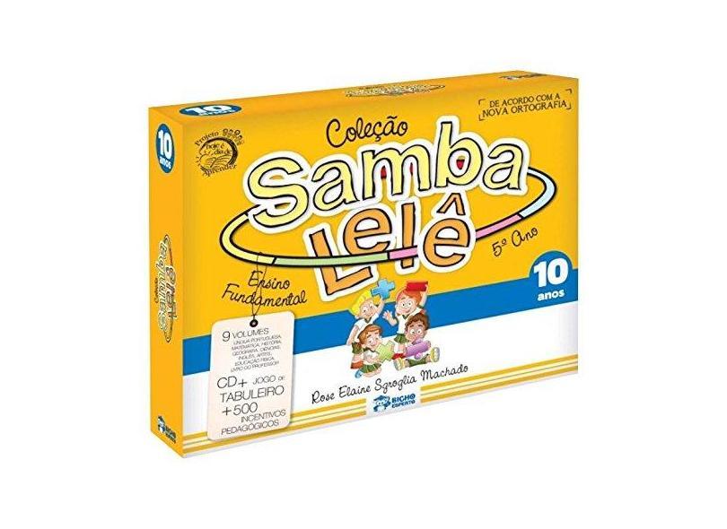Samba Lelê. 10 Anos - Vários Autores - 9788533938168