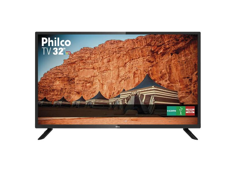 "TV LED 32 "" Philco PTV32F10D 2 HDMI"