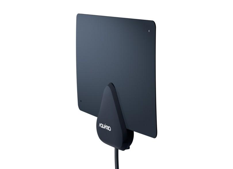 Antena de TV Rádio Interna Aquário DTV-200