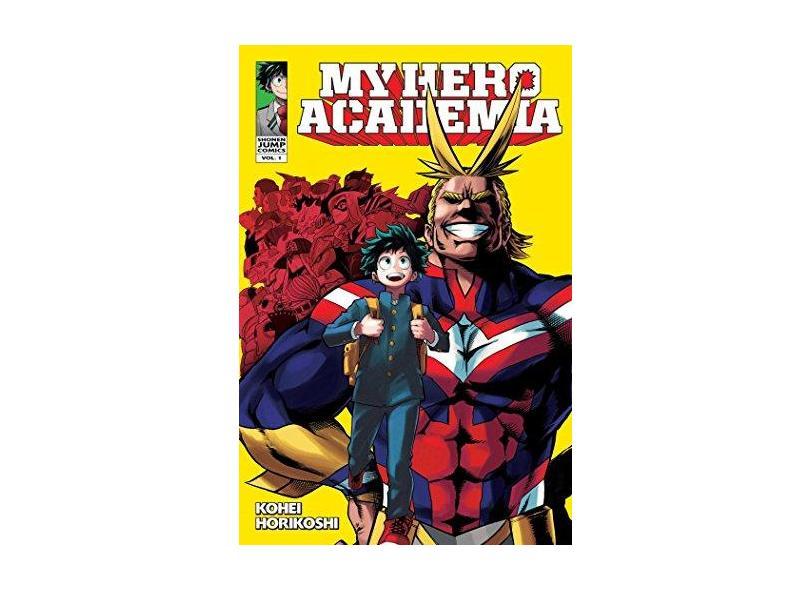 My Hero Academia, Vol. 1 - Kouhei Horikoshi - 9781421582696