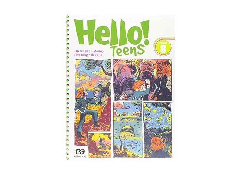 Hello! - Stage 8 - 8º Ano - Morino, Eliete Canesi - 9788508172320
