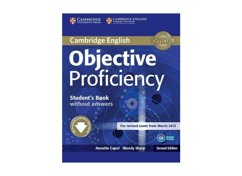 Objective Proficiency - Student´S Book - Without Answers - 2ª Edition 2013 - Capel, Annette; Sharp, Wendy - 9781107611160