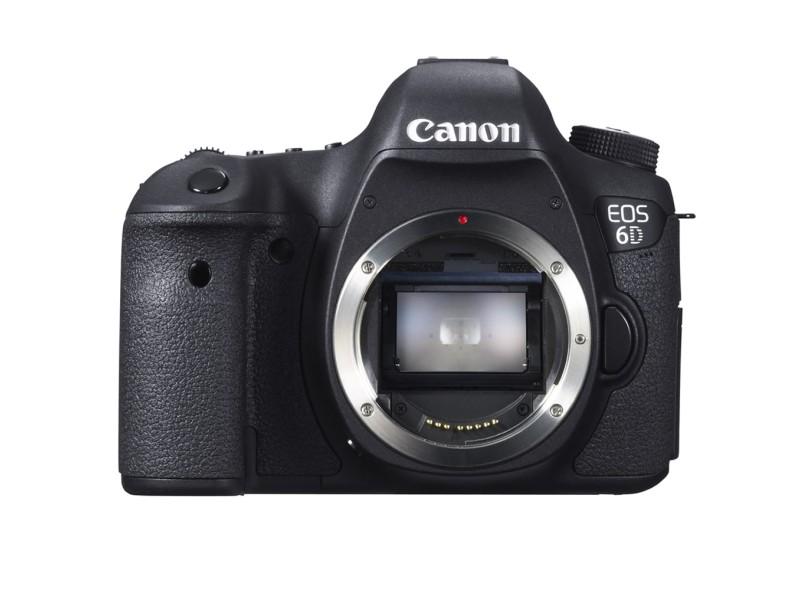 Câmera Digital DSLR (Profissional) Canon EOS 20,2 mpx Full HD Wi-Fi EOS 6D