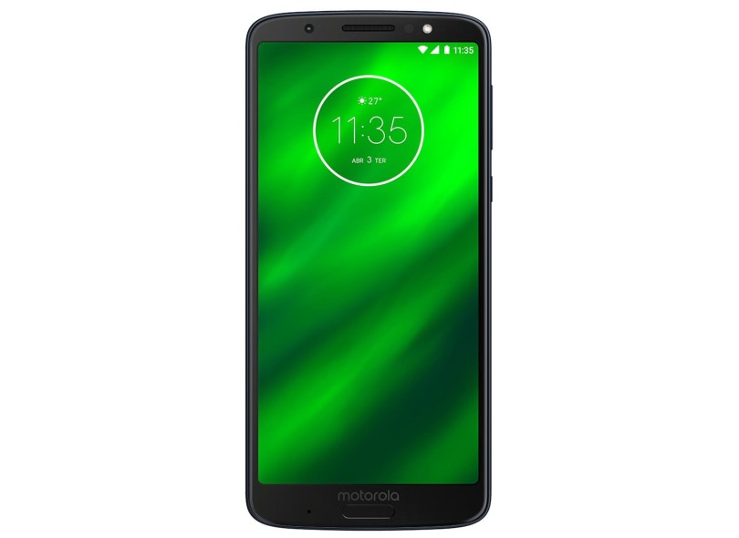 Smartphone Motorola Moto G G6 Plus XT1926-8 TV Digital 64GB 12,0 MP 2 Chips Android 8.0 (Oreo) 3G 4G Wi-Fi