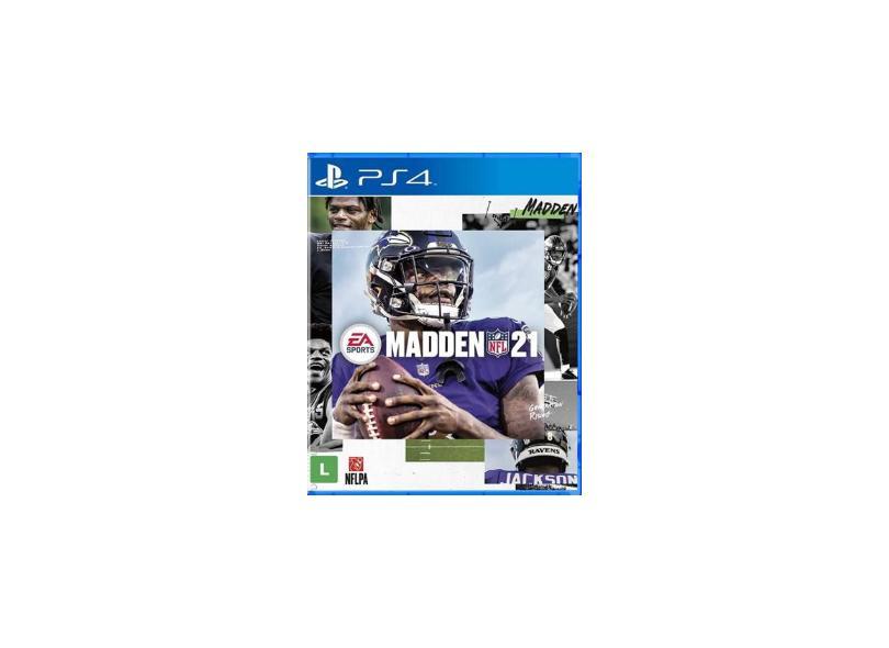Jogo Madden NFL 21 PS4 EA