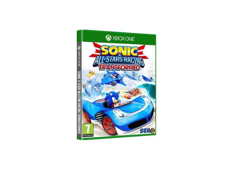 Jogo Sonic & All Star Racing Transformed Xbox One Sega