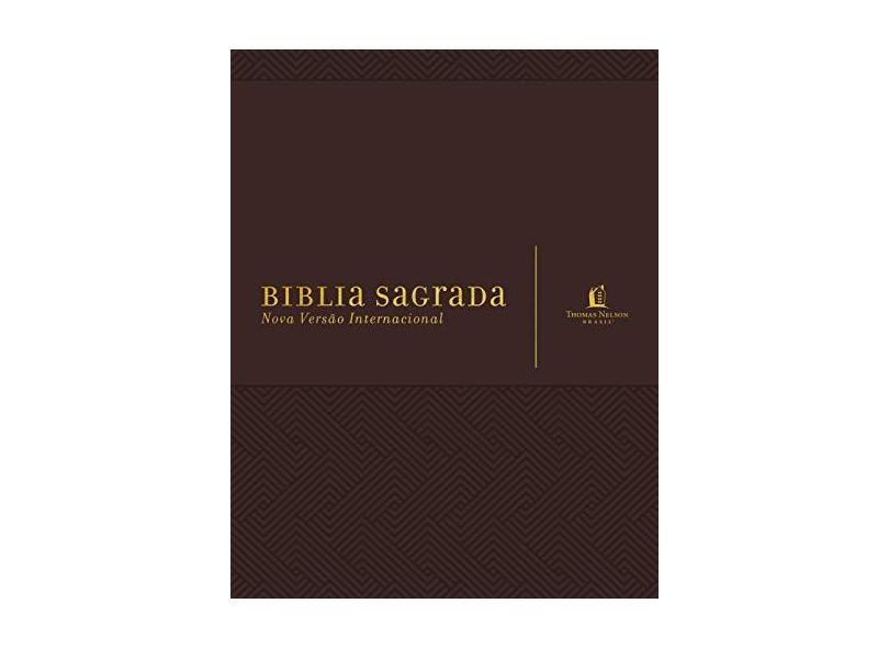 Bíblia Sagrada - Marrom - Thomas Nelson Brasil - 9788578602390