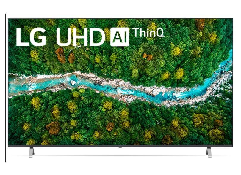 """Smart TV TV LED 70 """" LG ThinQ AI 4K HDR 70UP7750PSB 3 HDMI"""