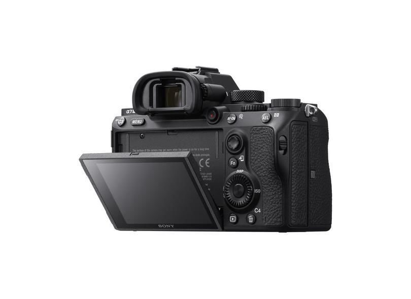 Câmera Digital Semiprofissional Sony Alpha 24.2 MP 4K Alpha a7III