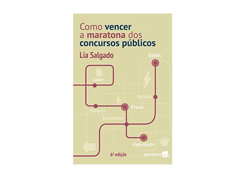 Como Vencer a Maratona dos Concursos Públicos - Lia Salgado - 9788553606955