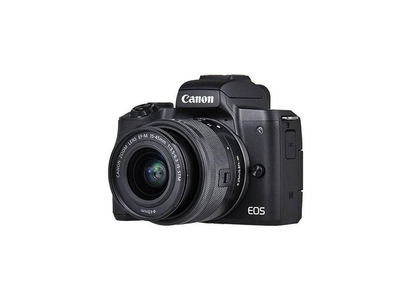 Câmera Digital Canon EOS 24.1 MP 4K M50