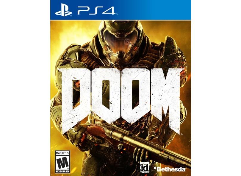 Jogo Doom PS4 Bethesda
