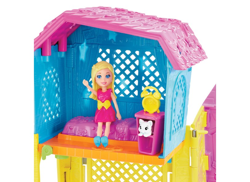 Boneca Polly Super Clubhouse Mattel